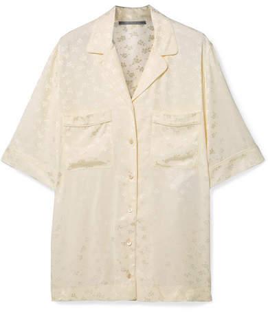 Stella McCartney Floral-jacquard Shirt - Ivory