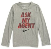 Nike Toddler Boy's Dry Ask My Agent Graphic T-Shirt