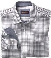 Johnston & Murphy Micro Check Shirt