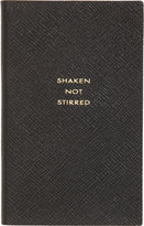 "Smythson Panama ""Shaken Not Stirred"" Notebook"