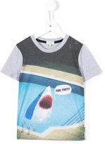 Paul Smith shark print T-shirt - kids - Cotton - 2 yrs