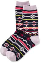 Old Navy Printed Boot Socks 1-Pack for Girls