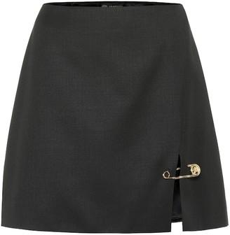 Versace Wool miniskirt