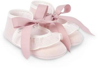 Paz Rodriguez Lace-Trim Shoes