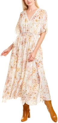 Johnny Was Odeya Silk Midi Dress