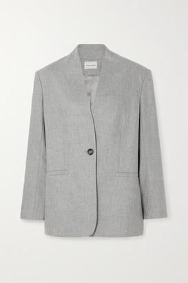 LOULOU STUDIO Wool-blend Blazer - Gray