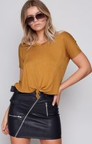 Beginning Boutique Make It Right Top Mustard