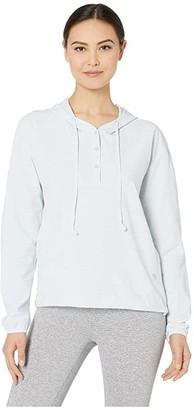 Mountain Hardwear Mallorcatm Stretch Long Sleeve Shirt (Zinc) Women's Clothing