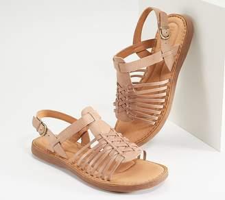 Børn Huarache Style Leather Sandal - Santiam