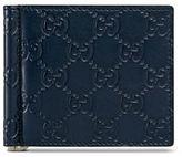 Gucci Signature Leather Money Clip