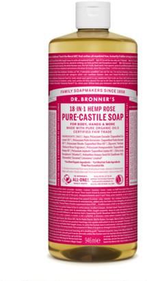 Dr. Bronner's Organic Rose Castile Liquid Soap 946Ml