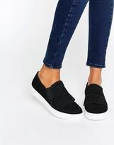 Park Lane Fringe Slip On Sneaker