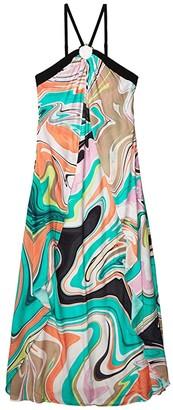 Trina Turk Nazare Maxi Dress Swimsuit Cover-Up (Multi) Women's Swimwear