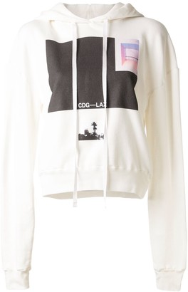 Unravel Project Graphic Print Hoodie