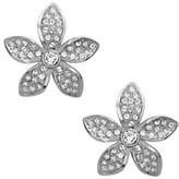 Nina Women's Floral Crystal Stud Earrings