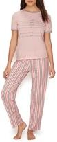 ED Ellen Degeneres Summer Nights Knit Pajama Set