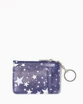 Charming charlie Star Print Key Ring Case
