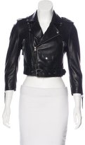 Linea Pelle Leather Moto Jacket