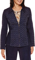 Alfred Dunner Sierra Madre Long Sleeve Denim Jacket