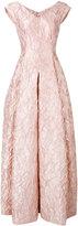 Talbot Runhof Notion gown - women - Silk/Acrylic/Polyester/Cupro - 38