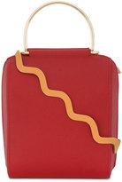 Roksanda red Besa box shoulder bag
