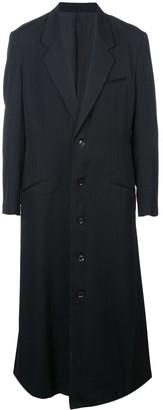 Yohji Yamamoto Long Single-Breasted Coat