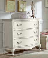 White Kensington Three-Drawer Dresser