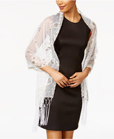 INC International Concepts Embellished Fringe Wrap, Created for Macy's
