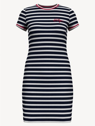 Tommy Hilfiger Essential Stripe T-Shirt Dress
