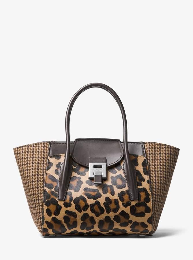 cde28120b1a646 Michael Kors Smooth Leather Handbags - ShopStyle