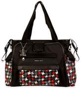 Kalencom Nola Tote Houndstooth Diaper Bag in Multiple Colors