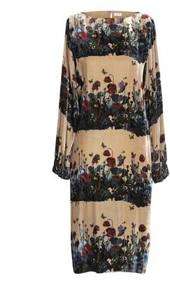 AILANTO Nude Dandelions Dress
