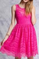 Ya Los Angeles Fuchsia Lace Dress