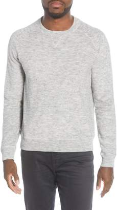 John Varvatos Lexington Melange French Terry Sweater