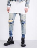 Julius Distressed-knee slim-fit skinny jeans