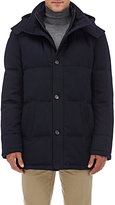 Barneys New York Women's Down-Quilted Cashmere Parka-NAVY