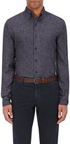 Eidos EIDOS MEN'S LINEN FLANNEL BUTTON-DOWN SHIRT