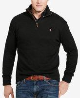Polo Ralph Lauren Big & Tall Men's Estate Rib Half-Zip Sweater
