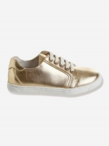 Vertbaudet Girls Leather Trainers