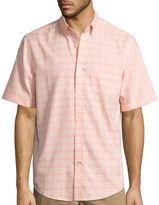 ST. JOHN'S BAY St. John's Bay Short-Sleeve Button-Front Easy-Care Shirt