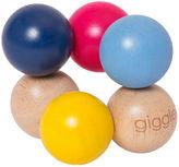 Giggle Wood Rattle - Baby Beads