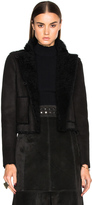 Proenza Schouler Curly Shearling Coat