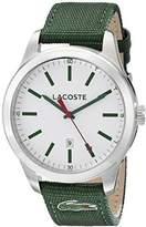Lacoste Men's 2010777 Auckland Analog Display Japanese Quartz Green Watch
