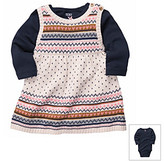 Carter's Baby Girls' Navy 2-pc. Dress and Sweater Set