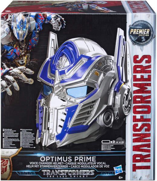 Hasbro Transformers Transformers: The Last Knight Optimus Prime Voice Changer Helmet