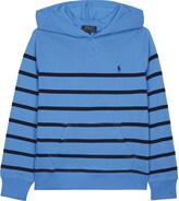 Ralph Lauren Striped cotton hoody 6-14 years