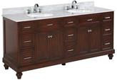 """KBC Amelia 72"""" Double Bathroom Vanity Set Base"""