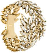 Saint Laurent leaves embellished cuff