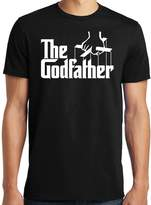 PubliciTeeZ The Godfather Italian Mob Men's T-Shirt Big and Tall Sizes Available (M, )