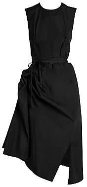 Marni Women's Ruched Cotton Poplin Dress